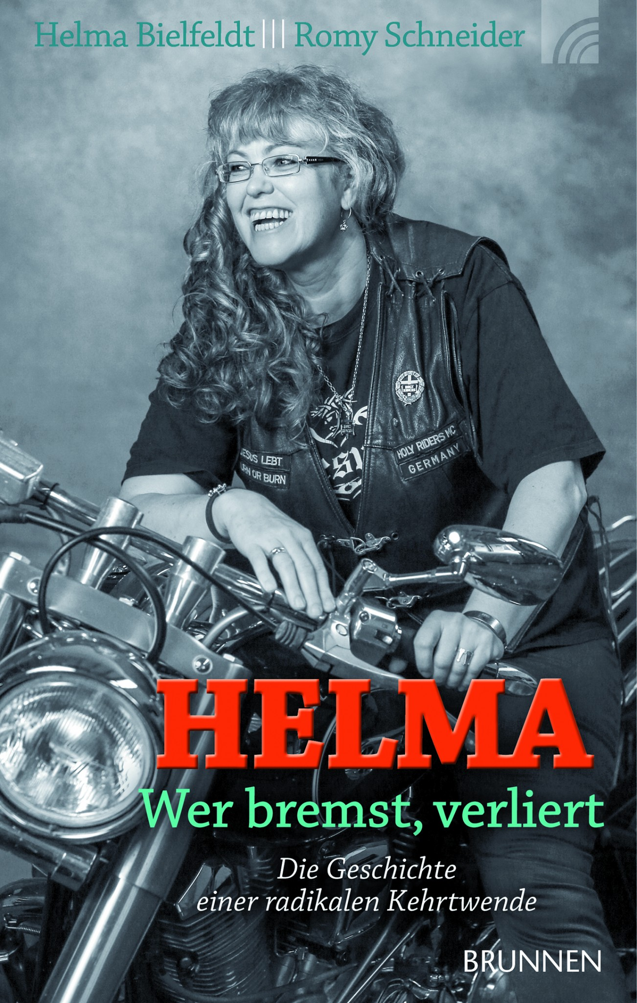 Rocker Präsidentin Helma Bielfeldt