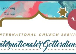 Internationaler Gottesdienst Leonberg International Church service