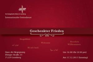 Internationaler Gottesdienst @ Haus der Begegnung | Leonberg | Baden-Württemberg | Deutschland