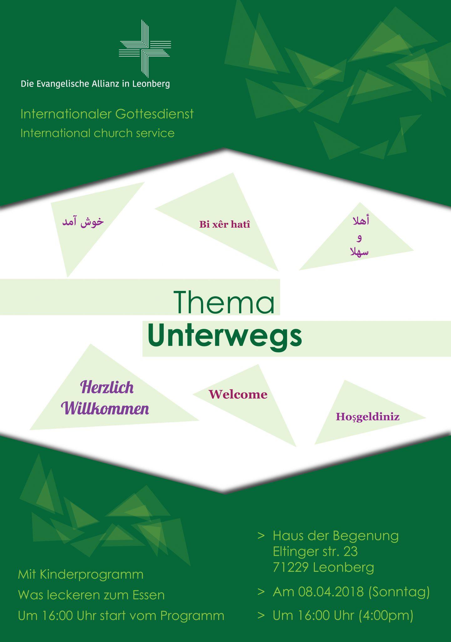 international church service Leonberg