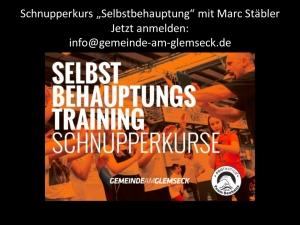 Selbstbehauptungs-Training Schnupperkurs Kinder @ Hotel Glemseck
