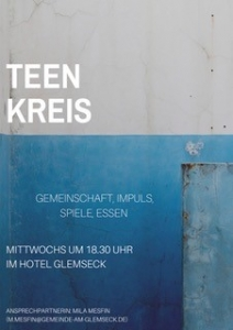 Teenkreis um 18.30 Uhr im Hotel Glemseck @ Hotel Glemseck